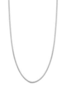 Diamond Point Timeless treasures witgouden collier (42cm)