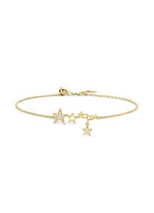 Diamond Point Geelgouden armband, 0.08 ct diamant, Cosmic