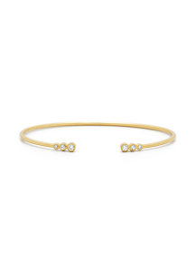 Diamond Point Geelgouden armband, 0.20 ct diamant, La Dolce Vita