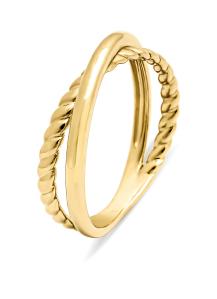 Diamond Point Geelgouden ring Circle of Life