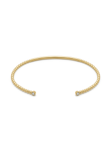 Diamond Point Joy bracelet in 14 karat yellow gold