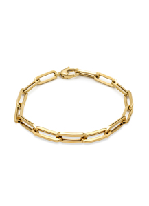 Diamond Point Timeless treasures bracelet in 14 karat yellow gold