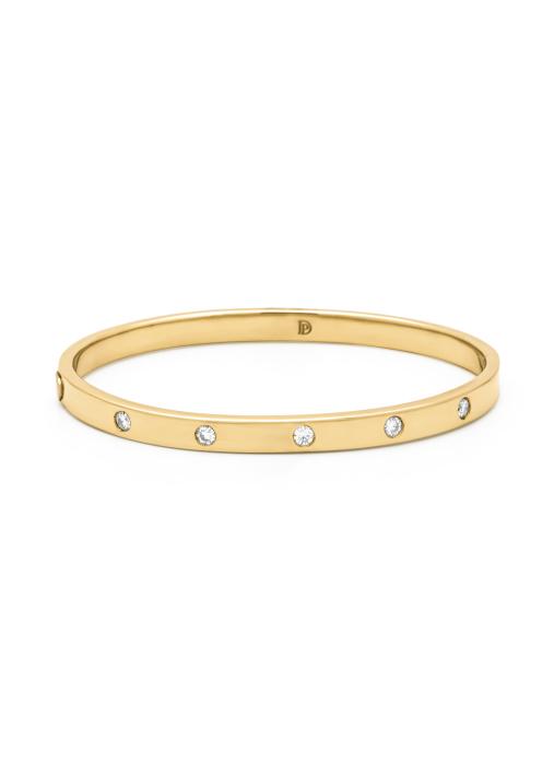 Diamond Point Gouden armband, 0.35 ct diamant, Timeless Treasures