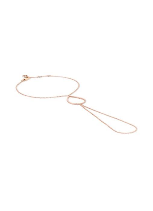 Diamond Point Uptown roségouden hand chain