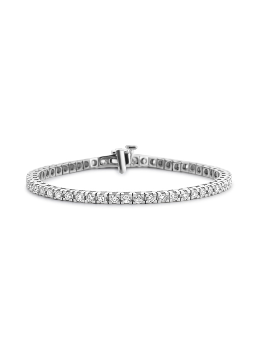 Diamond Point Tennisarmband, 3.00 ct diamant