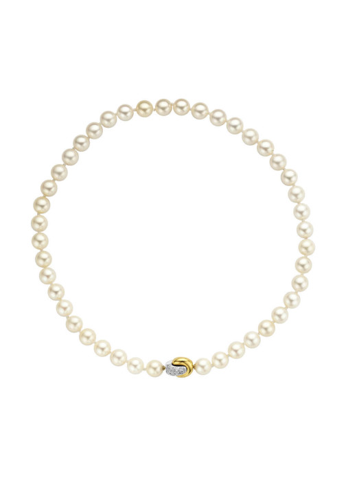 Diamond Point Parelcollier Pearls