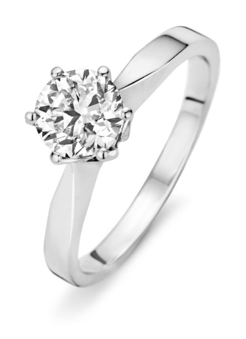 Diamond Point Witgouden ring 2.04 ct diamant Solitair