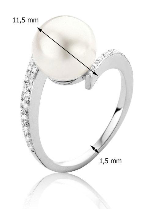 Diamond Point Parelring Pearls