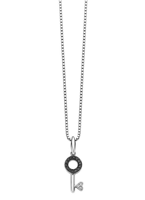 Diamond Point Alliance Key hanger witgoud