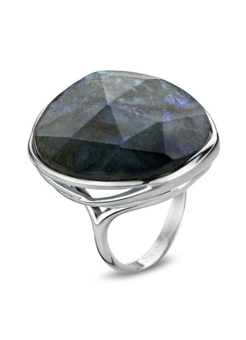 Diamond Point Colors ring in sterling silver