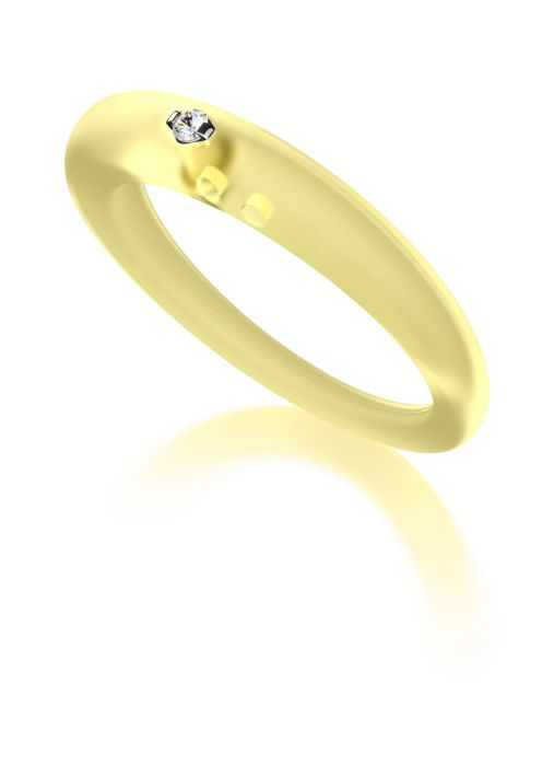 Diamond Point Solitair ring