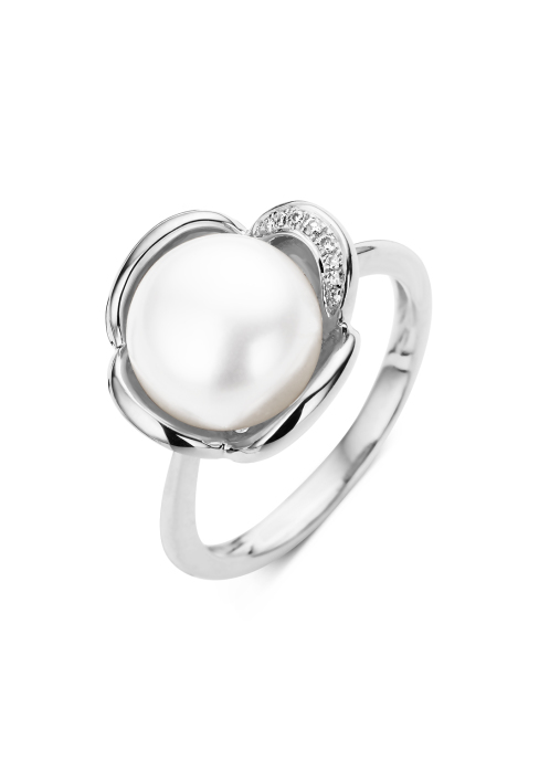 Diamond Point Parelring Pearls