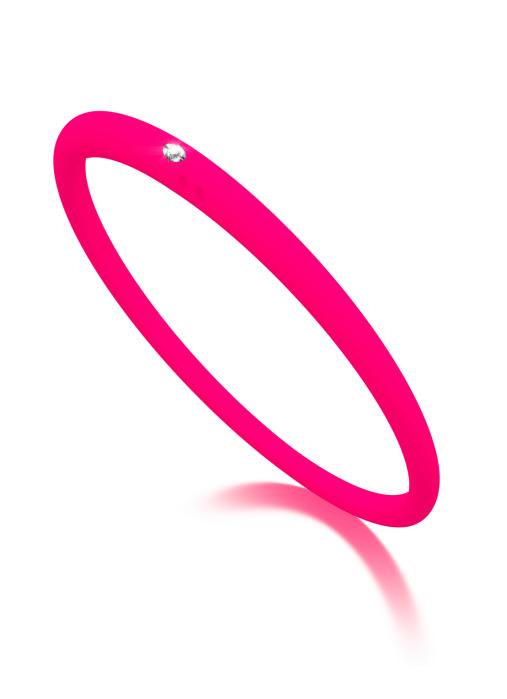 Diamond Point Solitair armband
