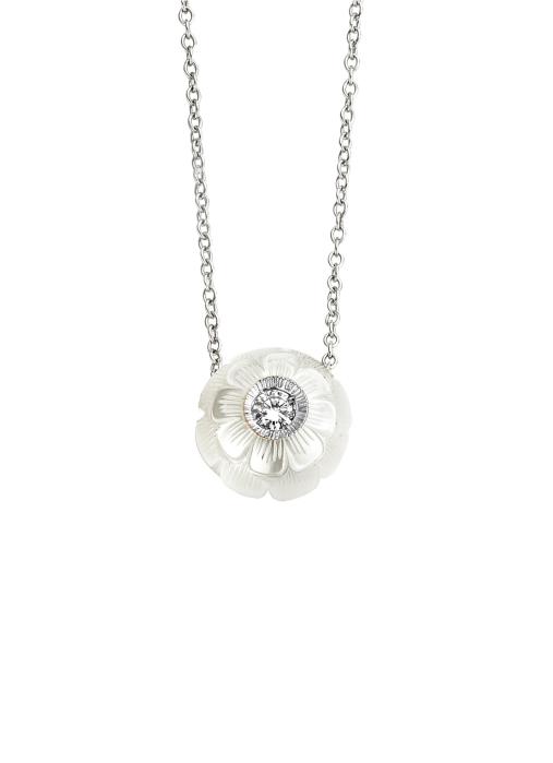 Diamond Point Parelhanger Pearls