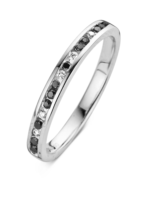 Diamond Point White gold eternity ring
