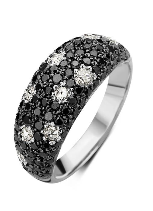 Diamond Point Witgouden ring 0.30 ct diamant Black