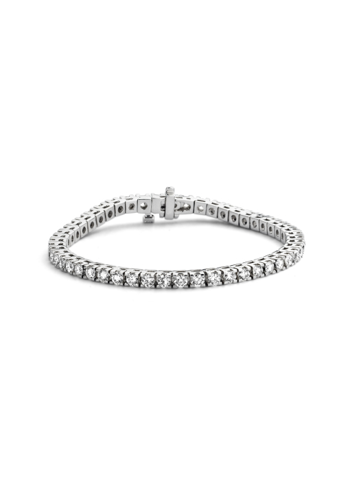 Diamond Point Tennis bracelet Armband in 14K Weißgold