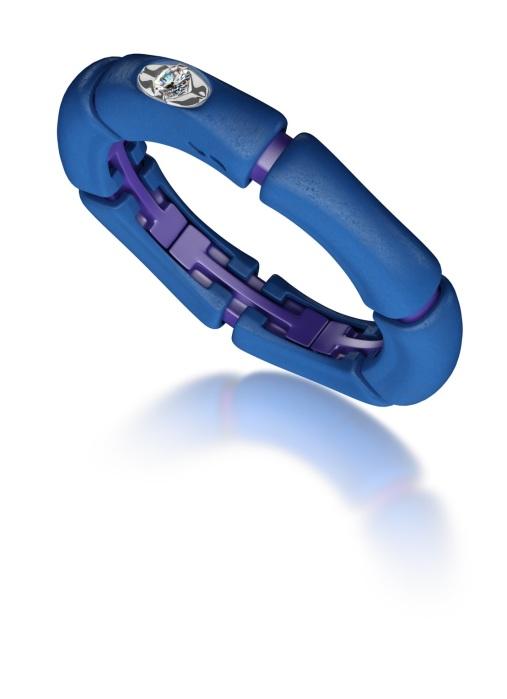 Diamond Point Blue Geisha ring
