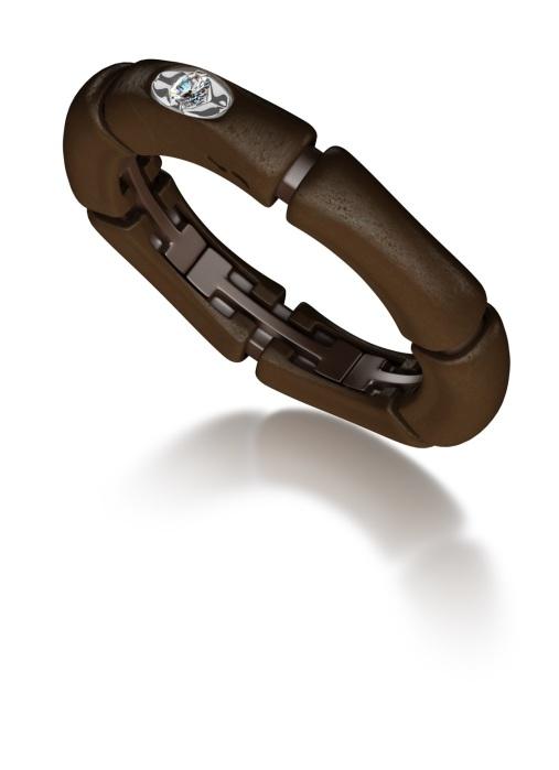 Diamond Point Samurai Brown ring