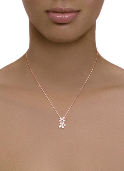 Diamond Point Melody pendant in 18 karat rose gold