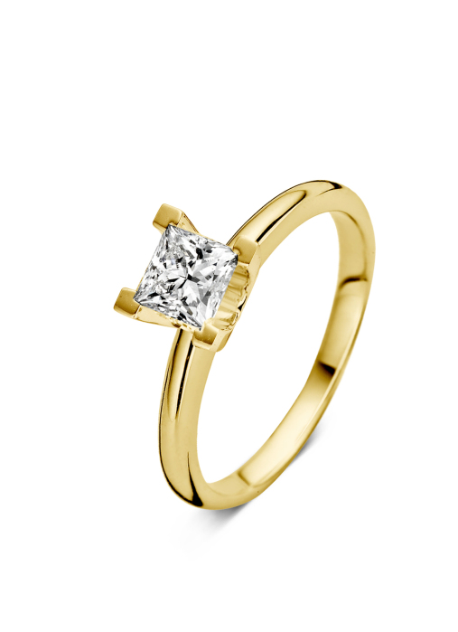 Diamond Point Geelgouden ring 0.70 ct diamant Solitair