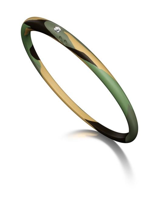 Diamond Point Armband, 0.02 ct diamant, Colors