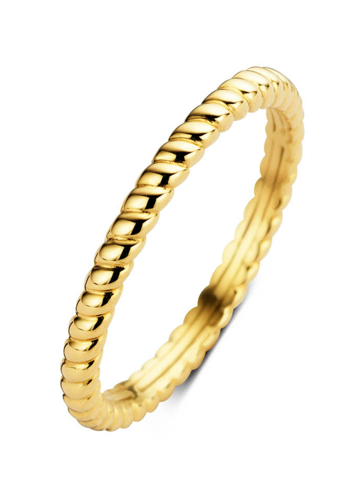 Diamond Point Ensemble Ring in 14K Gelbgold