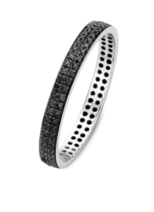Diamond Point Witgouden ring, 0.32 ct diamant, Black