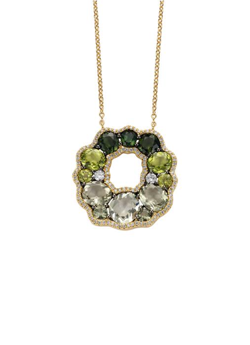 Diamond Point Colors Halskette