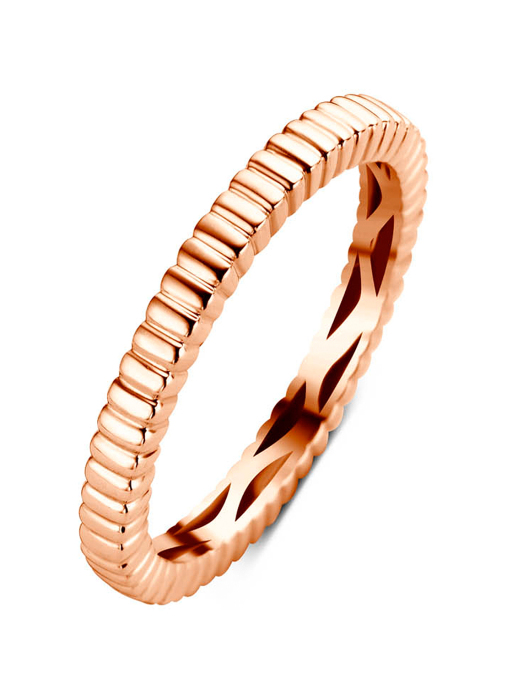 Diamond Point Roségouden ring Ensemble