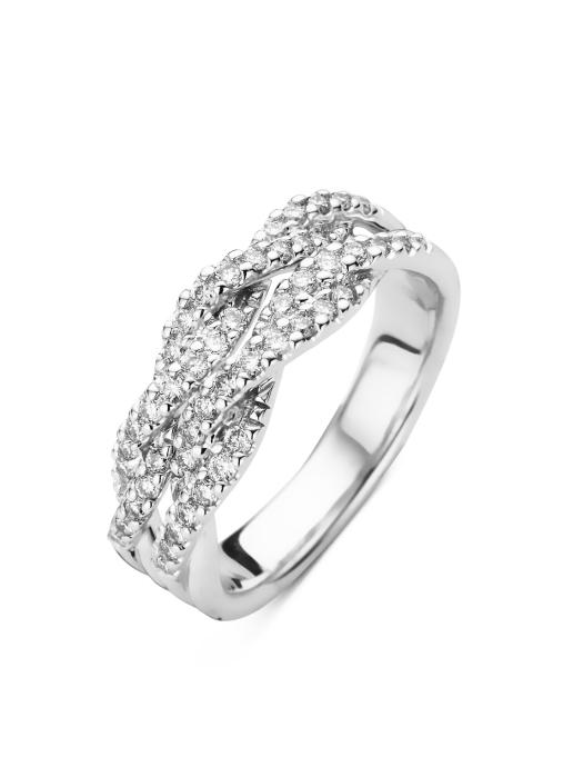 Diamond Point Côte d'Azur Ring in 14K Weißgold