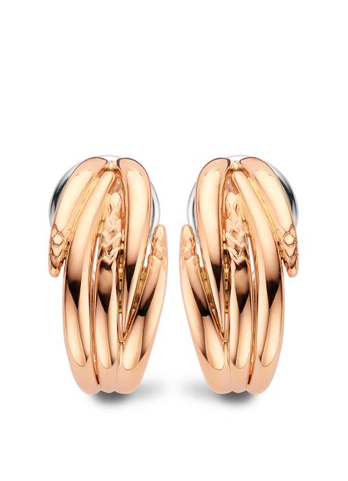 Diamond Point Beauties of the sea earrings in 18 karat rose gold