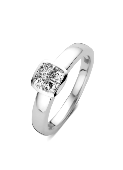 Diamond Point Witgouden ring 0.52 ct diamant Fourever