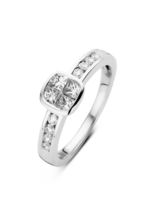 Diamond Point Witgouden ring 0.56 ct diamant Fourever