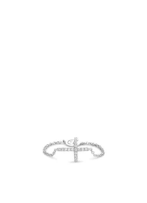 Diamond Point Uptown Ring in 14K Weißgold