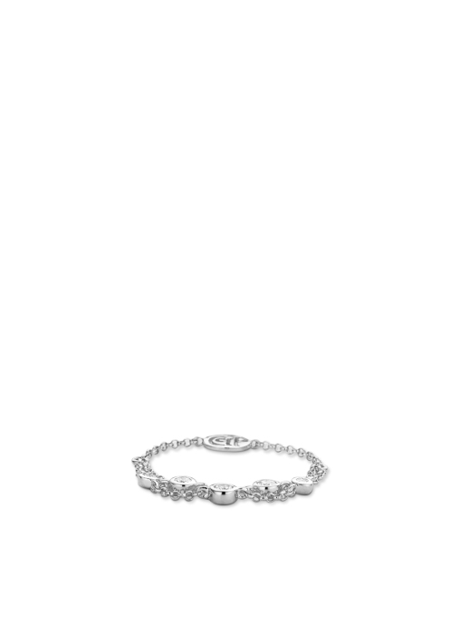 Diamond Point Uptown ring in 14 karat white gold