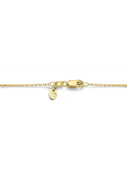 Diamond Point Timeless treasures geelgouden collier (50cm)