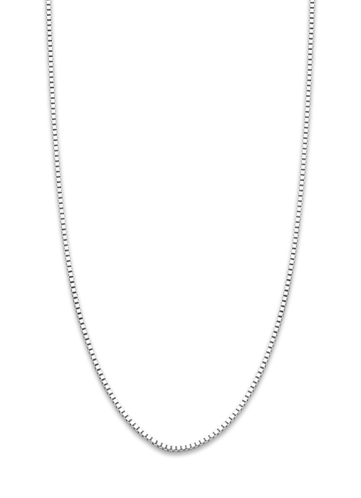 Diamond Point Timeless treasures witgouden collier (42cm)