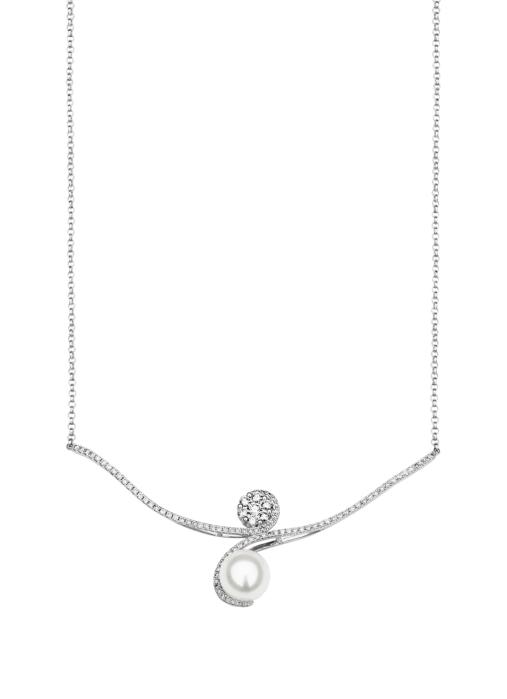 Diamond Point Parel necklace