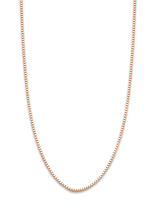 Diamond Point Timeless treasures necklace in 14 karat rose gold