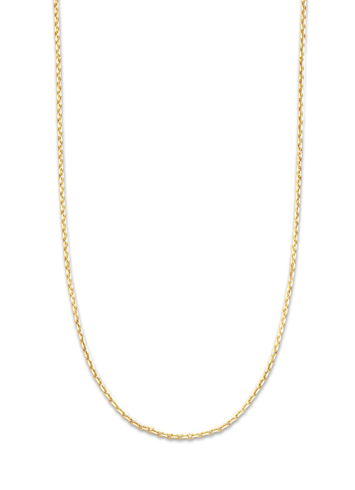 Diamond Point Timeless treasures necklace in 14 karat yellow gold