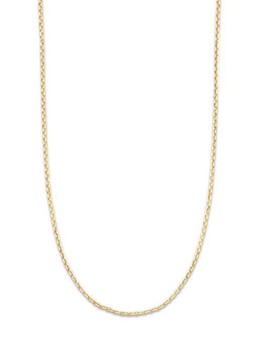 Diamond Point Timeless treasures geelgouden collier (45cm)