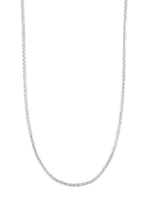 Diamond Point Timeless treasures necklace in 14 karat white gold