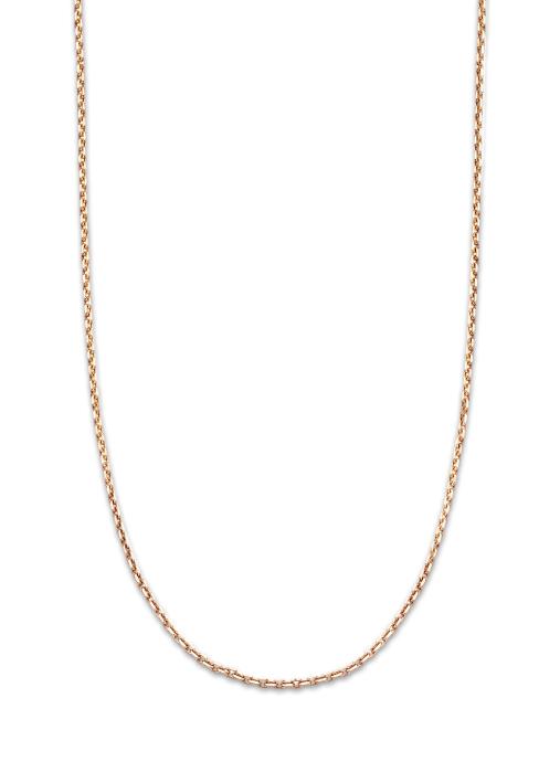 Diamond Point Timeless treasures roségouden collier (45cm)