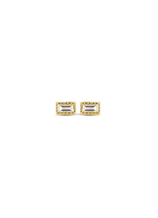 Diamond Point Joy earrings in 14 karat yellow gold