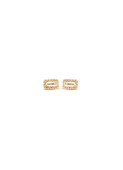 Diamond Point Roségouden oorsieraden 0.09 ct diamant Joy