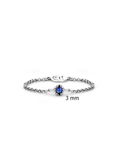 Diamond Point Joy ring in 14 karat white gold