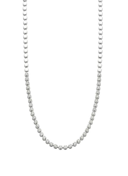 Diamond Point Witgouden collier, 1.00 ct diamant, Gallery