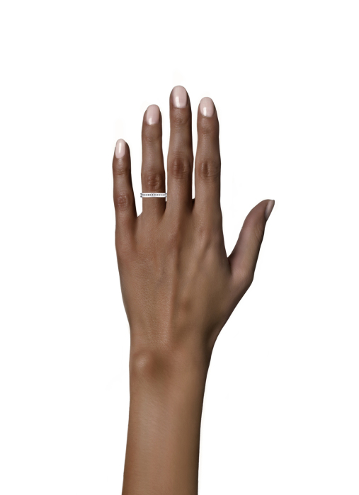 Diamond Point Witgouden ring 0.33 ct diamant Wedding