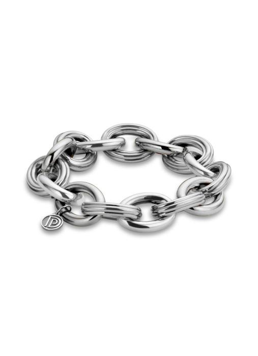 Diamond Point Sterling zilver armband (M)